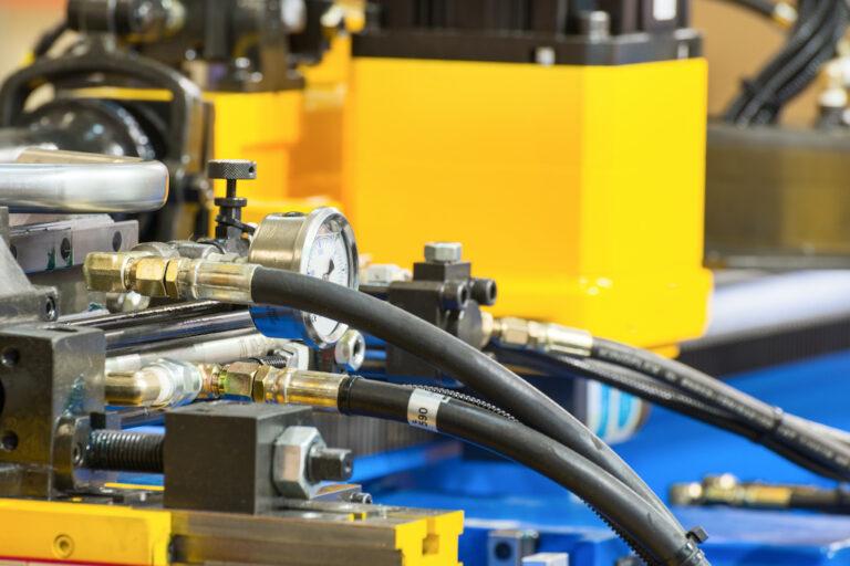 Rubber hydraulic hose